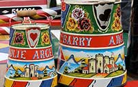 Painted Water Cans